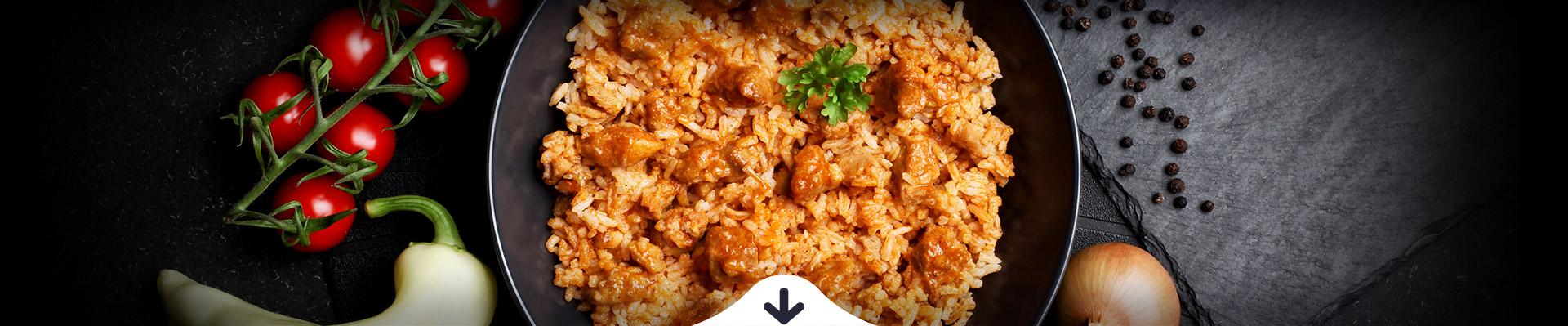 HELLO FOOD FREE Bácskai rizseshús