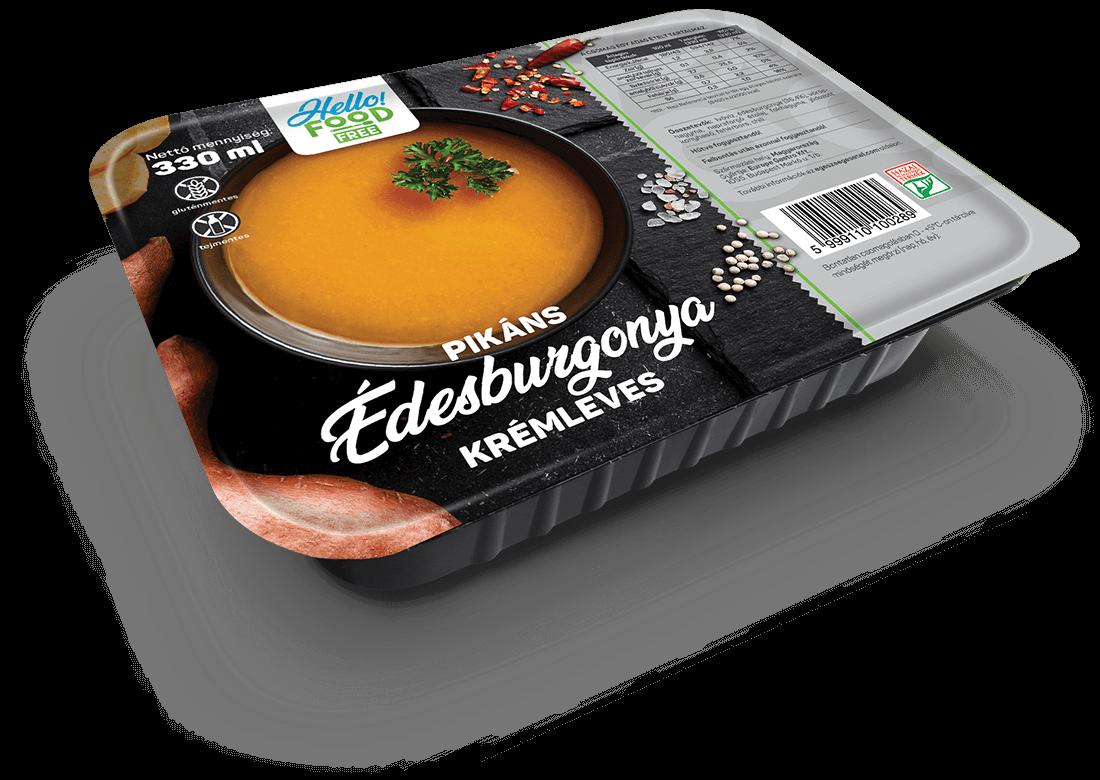 HELLO FOOD FREE Pikáns édesburgonya krémleves