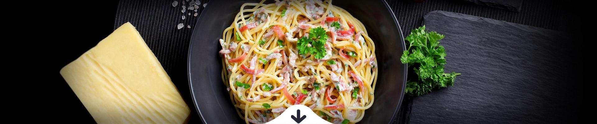 HELLO FOOD Spagetti carbonara