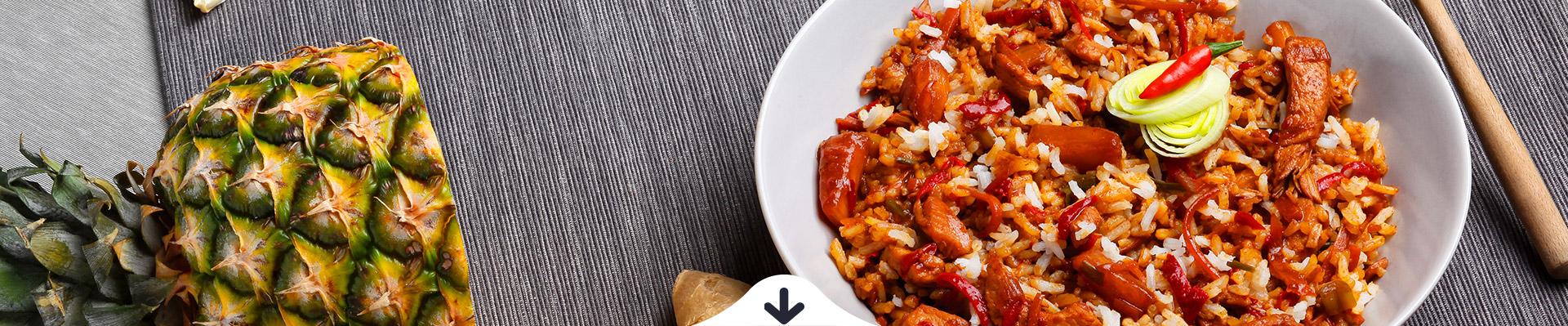 JÓLENNI Csípős kínai csirke rizzsel