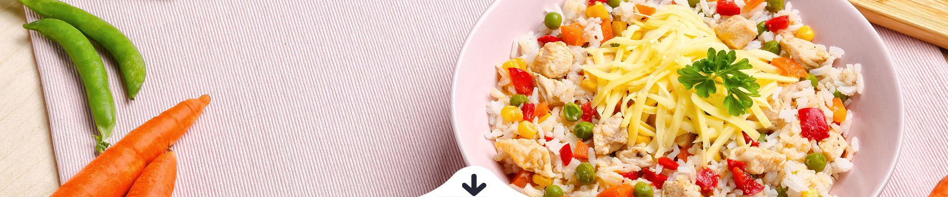 JÓLENNI Tavaszi zöldséges csirke rizzsel